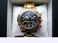 Мужские часы Rolex Daytona цвет циферблата золотистый,женские наручные часы, мужские, часы Ролекс
