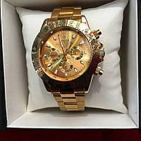 Наручные часы Rolex Daytona Gold,женские наручные часы, мужские, часы Ролекс, эксклюзив, супер качество