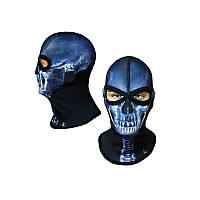 Балаклава череп Blue, Radical