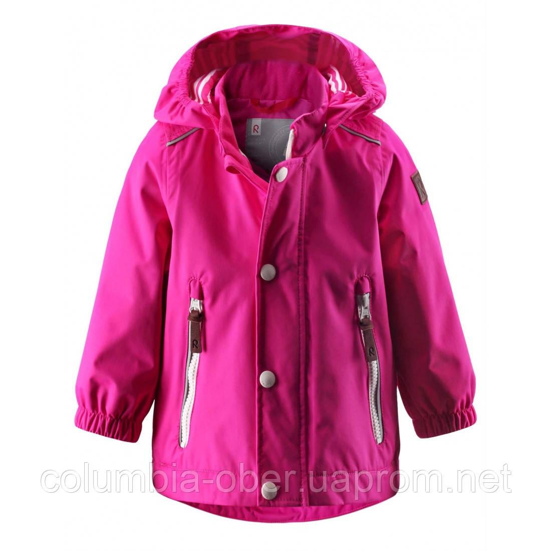 Ветровка детская для девочки ReimaTec 511116-4690. Размер 80 -  98.