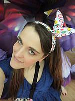 Повязка для волос с цветным принтом, фото 1
