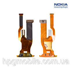 Шлейф для Nokia 6260s, межплатный, камеры, с компонентами, оригинал
