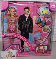 Кукла Барби беременная с Кеном и ребенком, семья