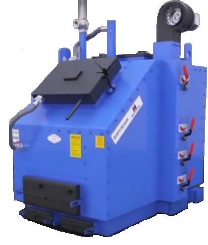 Котел промышленный KW-GSN-1-200 кВт на твердом топливе
