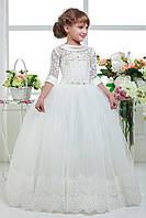 Детское нарядное платье выпускное D801