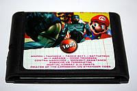 Картридж Sega 10в1 Mario Танчики Battletech