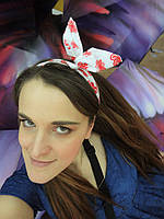 Повязка для волос с бабочками, фото 1