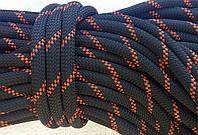 [20м] Верёвка статическая высокопрочная 10мм чёрная Tendon Static 48