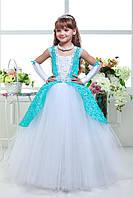 Платье детское нарядное выпускное D811