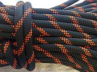 [32м] Верёвка статическая высокопрочная 11мм чёрная Tendon Static 48