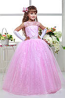 Детское нарядное выпускное платье D813