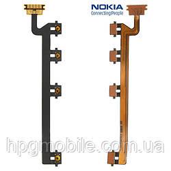 Шлейф для Nokia Lumia 820, кнопки включения, боковых клавиш, с компонентами, оригинал