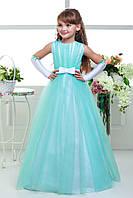 Детское нарядное выпускное платье D815