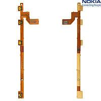 Шлейф для Nokia 920 Lumia, кнопки включения, с компонентами, оригинал