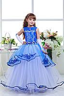Платье выпускное нарядное детское  D828