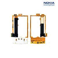 Шлейф для Nokia X3-00, межплатный, с компонентами, с верхним клавиатурным модулем, оригинал