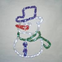 "Светодиодная фигура ""снеговик"" LED-XM(TIN)-2D-CK006"