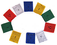 Тибетские флажки / Лунгта (25 х 20 см.)