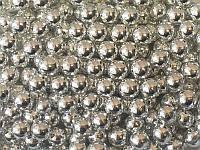 Драже серебро 6 мм