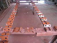 Роликоопора нижняя для ленточного конвейера