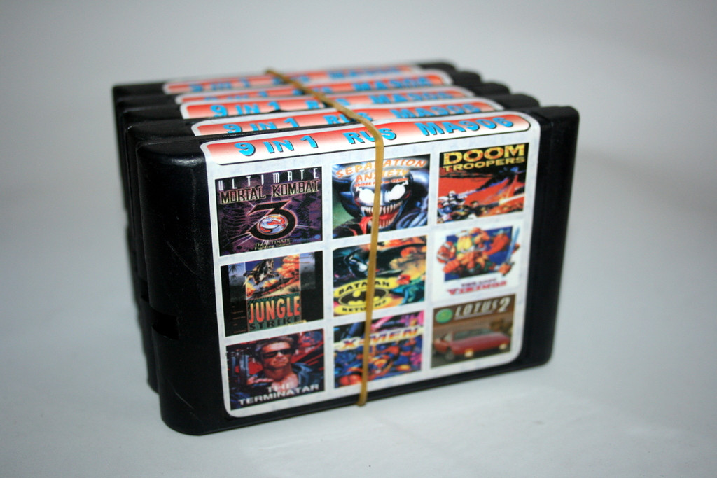 Сборник игр на Sega 9 в 1 MA-906