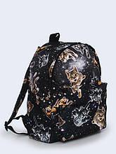 Рюкзак с Принтом Коты в Космосе