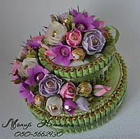 """Торт из конфет """"Сладость"""""""