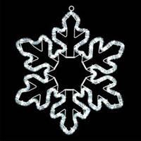 """Светодиодная фигура """"снежинка"""" LED-XM(FR)-2D-CK004-240V-12"""
