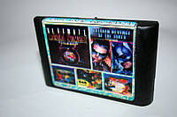 Картридж Sega 5в1 Tom and Jerry Mortal Kombat 3 Ultimate