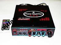 Усилитель звука AMP 308 + караоке, усилитель мощности
