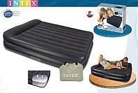 Надувная кровать Intex 66720 ИНТЕКС (152х 203 х 47 см) Pillow Rest…киев, фото 1