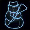 """Новогодний мотив """"снеговик"""""""