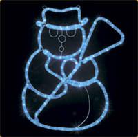 """Новогодний мотив """"снеговик"""", фото 1"""