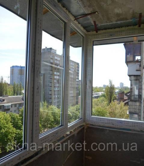 Остекление балконов с выносом Вишневое (098) 777-31-49;