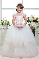 Детское нарядное выпускное платье D802