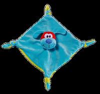 Игрушка велюровая Собачка с погремушкой