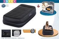Кровать со встроенным насосом Twin, 99x190x42 см, Intex 64422