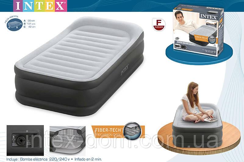 Кровать Twin Deluxe Pillow Rest, 99x191x42 см, Intex 64432
