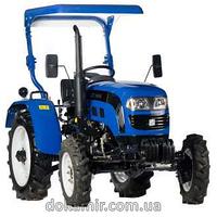Трактор (минитрактор) ДТЗ 4244Р (КПП 8+8, гидроус. руля, двухдисковое сцепление, навес от солнца)