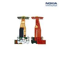 Шлейф для Nokia 6600i/6600s, межплатный, с камерой, с верхним клавиатурным модулем, оригинальный
