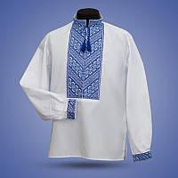 Вышитая мужская сорочка с необычным орнаментом