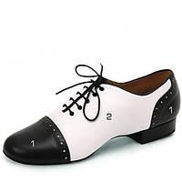 Бруно-Флекси (в черном цвете) Eckse - обувь мужская для стандарта (р.24,5)