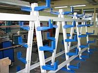 Промышленный легкий консольный стеллаж серии SVP