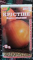 """Семена лука """"Кристинэ"""" ТМ VIA-плюс, Польша (упаковка 10 пачек по 10 г)"""