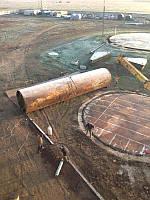 Перенос резервуаров стальных вертикальных цилиндрических тип РВС с гарантией 5 лет и с устройством фундаментов
