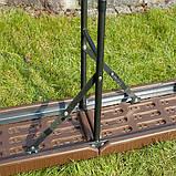 Комплект розкладних садових меблів Стіл 1,8м + 2 лавки, фото 6