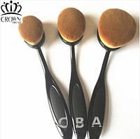 Набор 3 кисти для макияжа реплика  Artis Oval Brushes Кисти № 1-2-3, фото 1