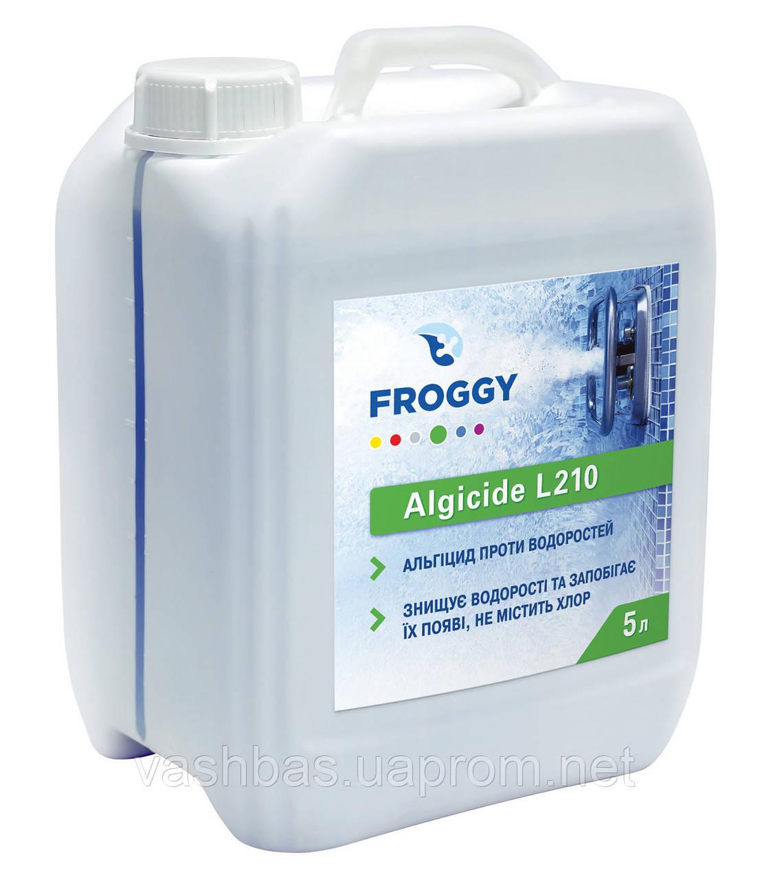 Algicid L210, 5 л средство против водорослей. Химия для бассейна FROGGY™