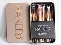 Набор кистей Naked 3