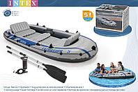 Надувная лодка Intex 68325 Excursion 5 Set, фото 1